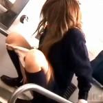 【オナニー隠撮動画】女子校トイレで自慰行為をするギャル女子校生を隣の個室から隠し撮りww