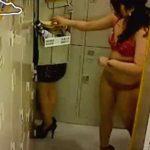 【着替え隠撮動画】会社のロッカールームで私服に着替える素人OLを同僚が隠しカメラ撮りしたガチ映像…