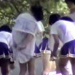【チアガール着替え盗撮動画】甲子園の裏側…球児を応援するJKチアガールが集団着替えしてるところを隠し撮りww