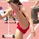 【陸上女子盗撮動画】女子大生の三段跳びを隠し撮り…ブルマ型ユニフォームがズレて見えそうな件ww