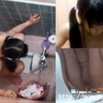 【ロリおしっこ盗撮動画】某市民プールの公衆トイレに夏休み期間中仕掛けた隠しカメラの映像流出…
