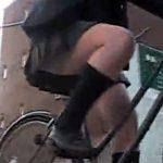 【パンチラ隠撮動画】自転車で…徒歩で…学校終わって帰宅中の女子校生の下着狙って隠し撮りww